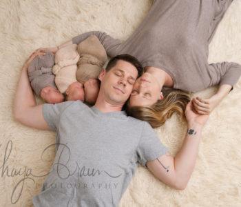 Newborn Identical Triplets