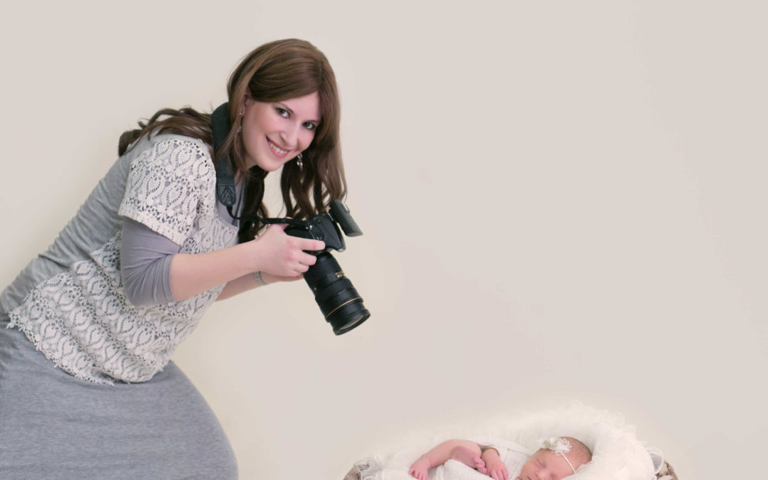 Behind the Scenes of a Newborn Photography Session in Baltimore