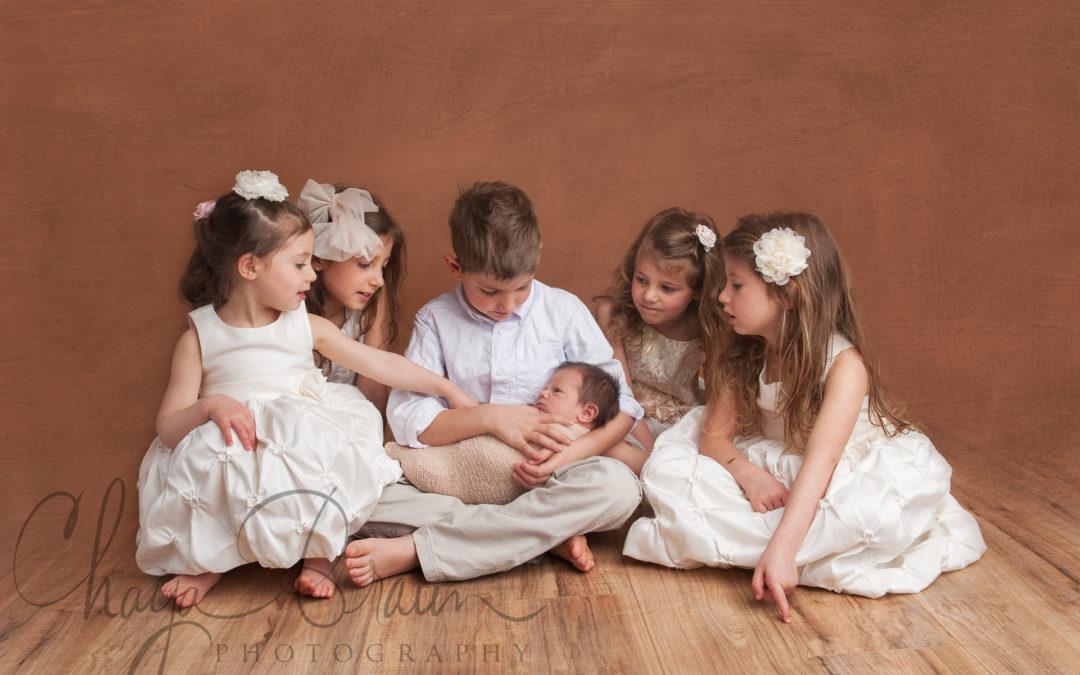 Baby Boy and 5 Siblings!