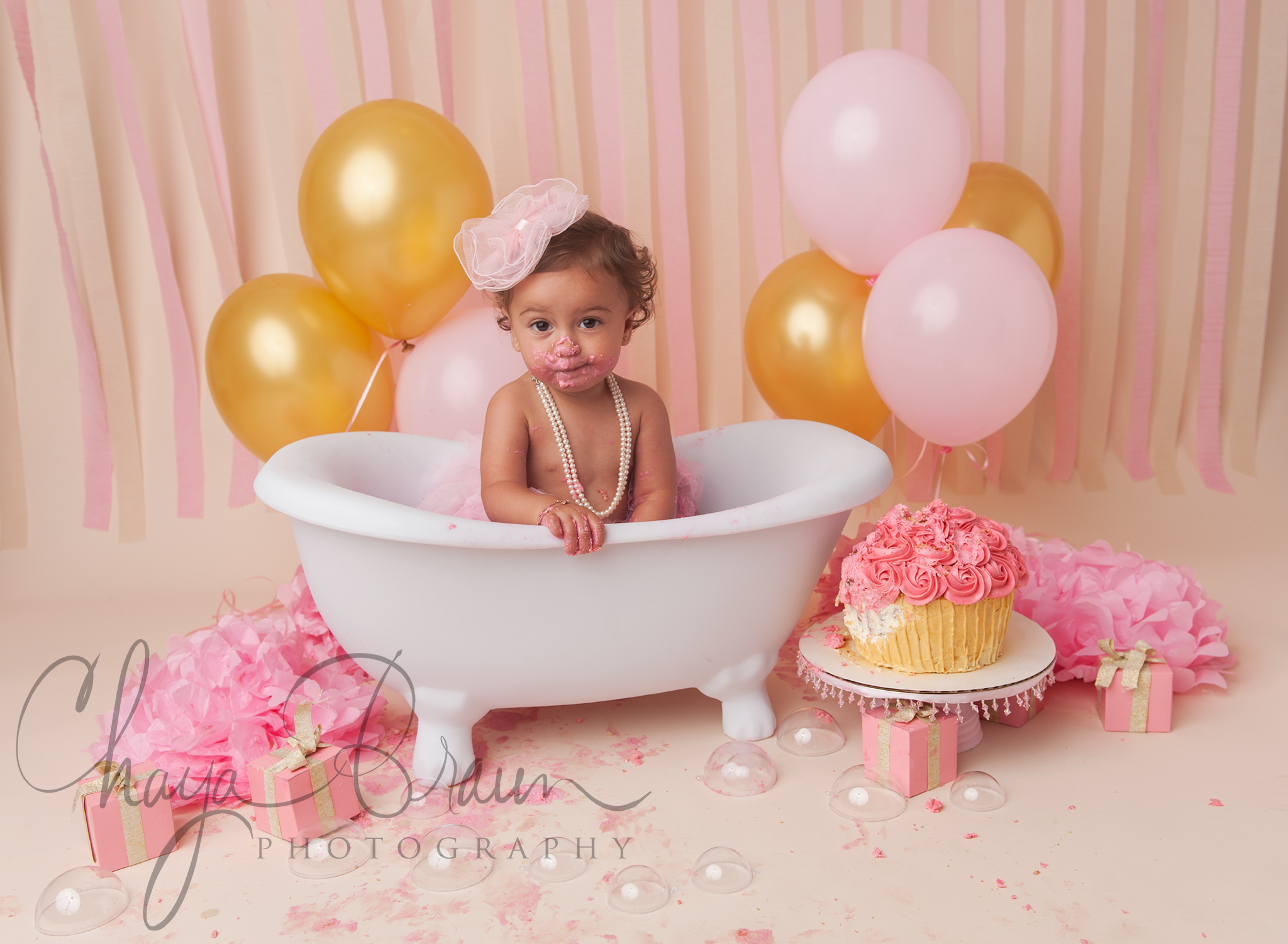 smash and splash birthday photos