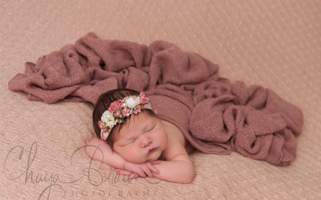 Newborn Baby Esther