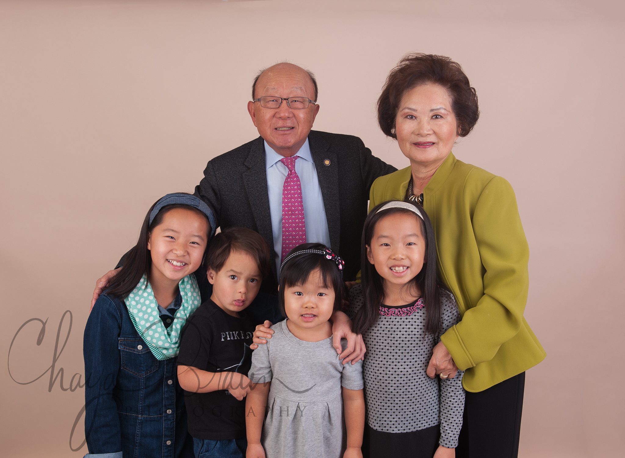 grandparents and grandchildren photo