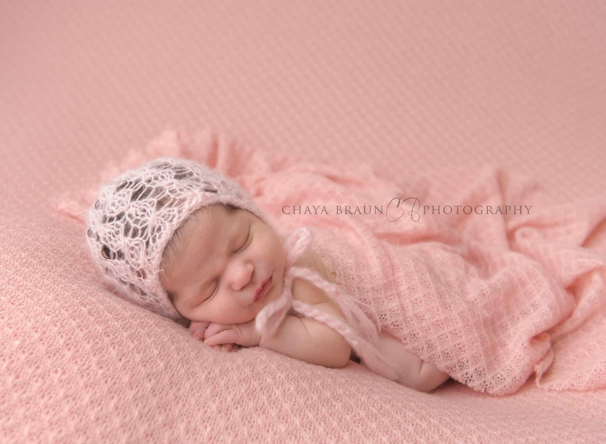 sleepy baby girl