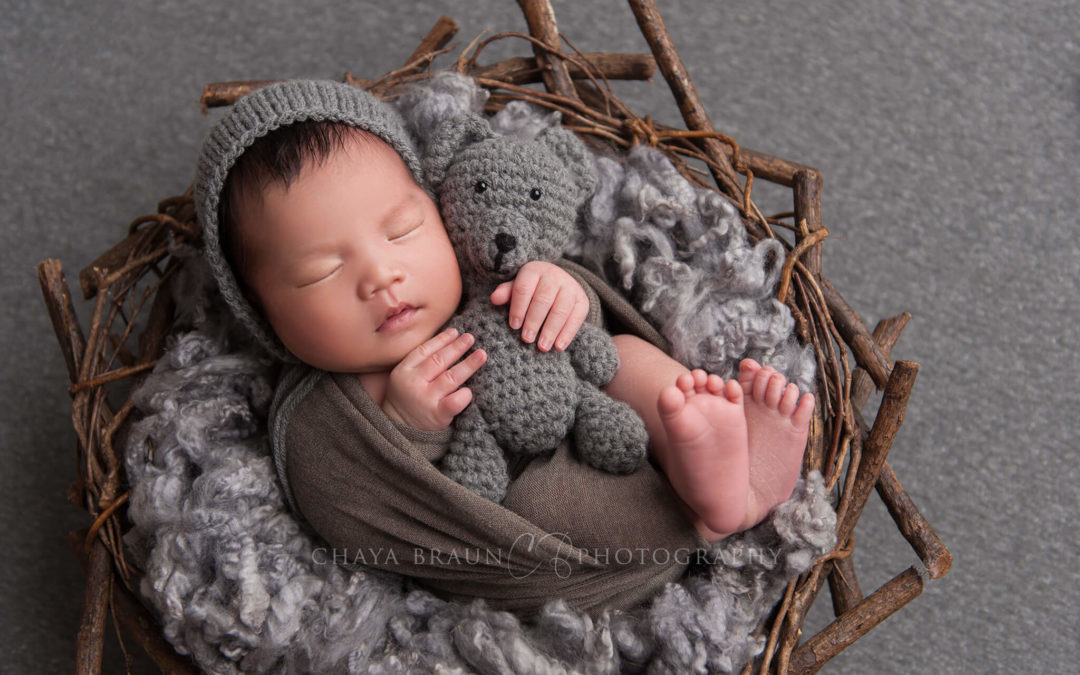 Newborn Baby Boy Photo Shoot
