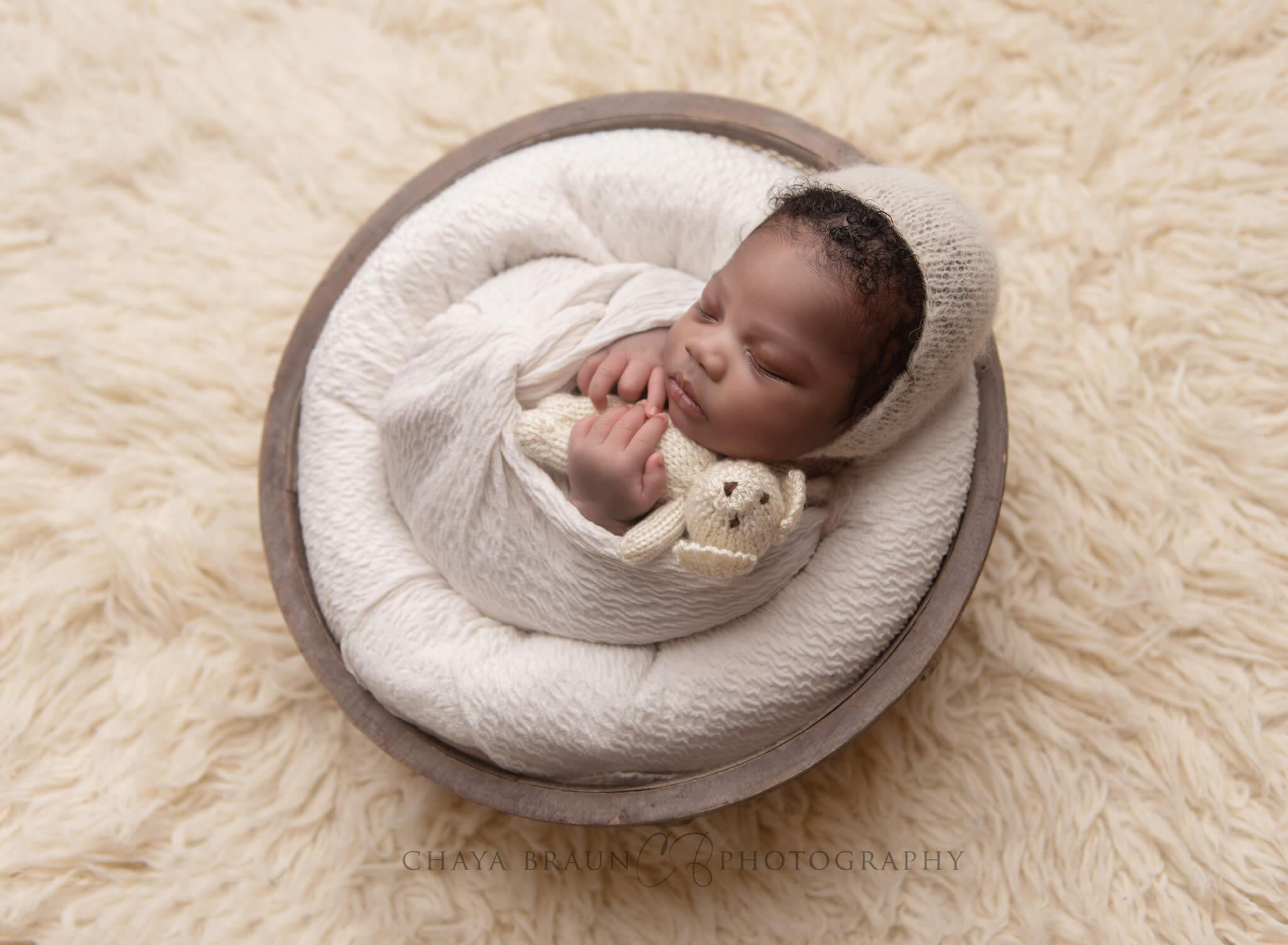 newborn baby photographer in Washington DC